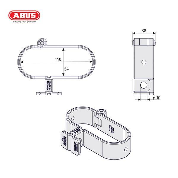 ABUS-131-Series-GateSec-Hasp-131-140_D
