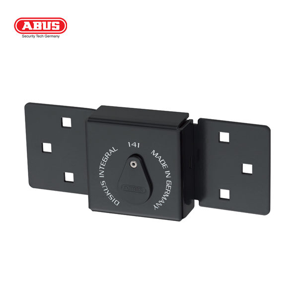 ABUS 141 Series Hasp and Staple 141-200-BLK_B