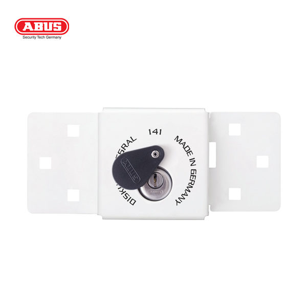ABUS 141 Series Hasp and Staple 141-200-WHT_A