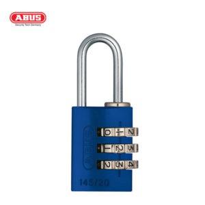 ABUS 145 Aluminium Combination Padlock 145/20-BLU-1