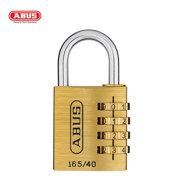 ABUS 165 Brass Combination Padlock 165-40-1_A