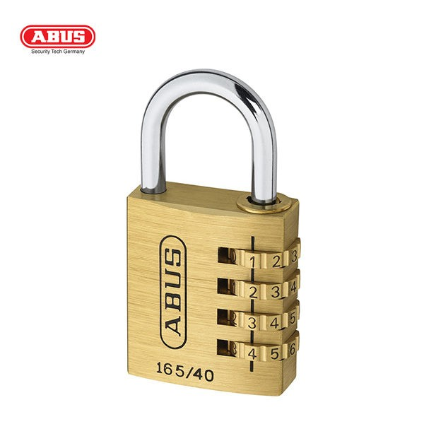 ABUS 165 Brass Combination Padlock 165-40-1_C