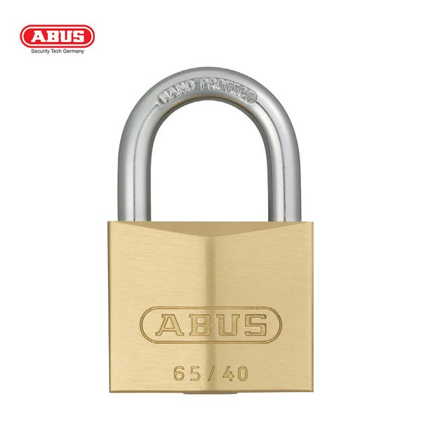 ABUS 65 Series SSP Brass Padlock 65-40-1_A
