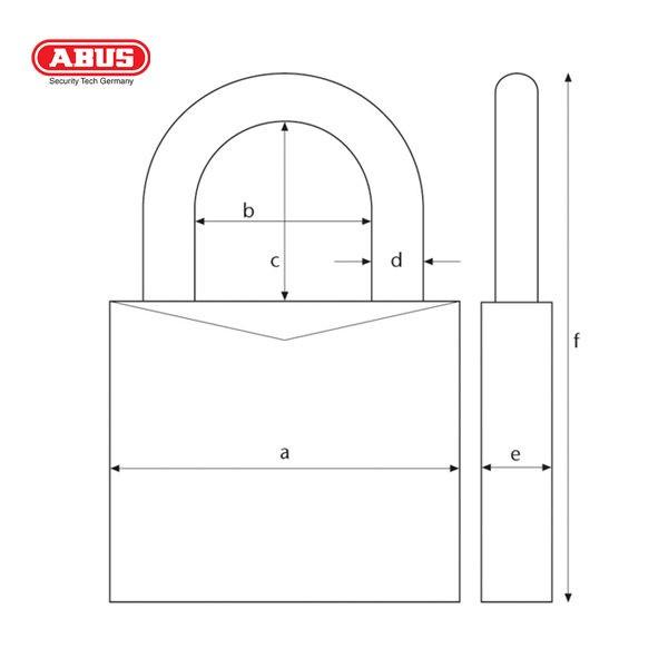 ABUS-70AL-Series-VC-Aluminium-Padlock-70AL-45-YEL-1_B