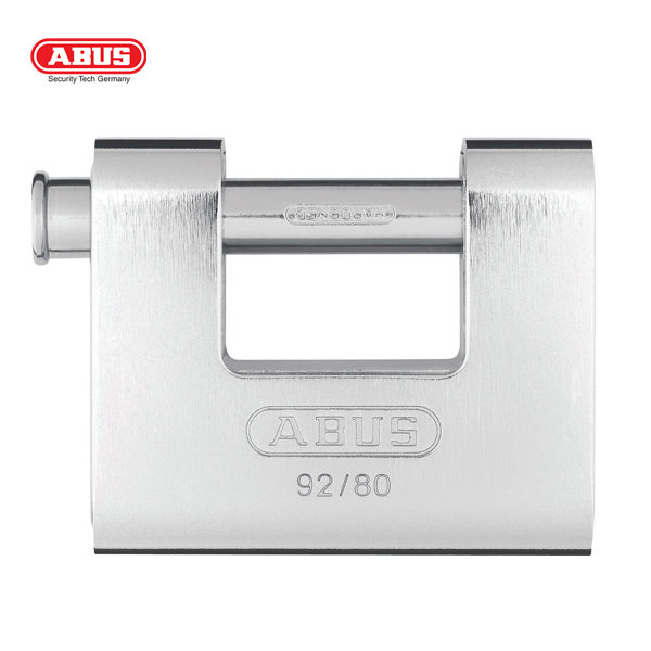 ABUS 92 Series Monoblock Insurance Padlock 92-80-1_A