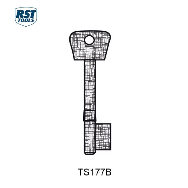 RST CHUBB Key Blanks TS177B
