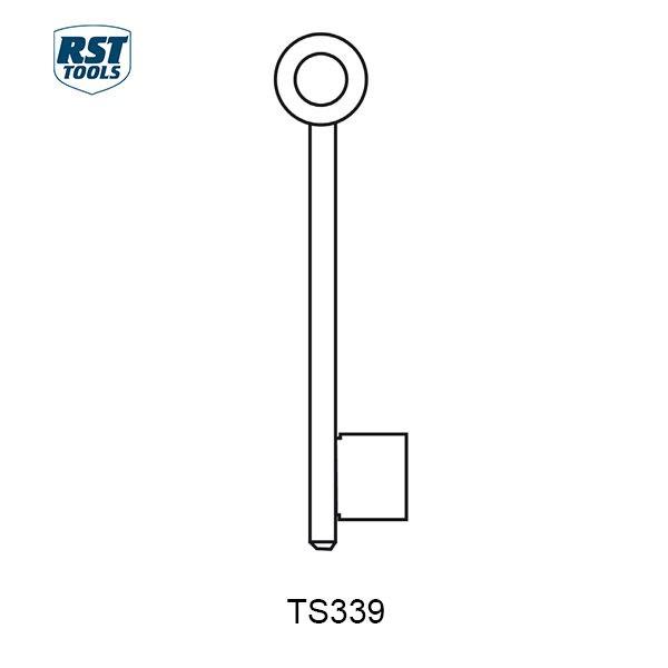 RST CHUBB Key Blanks TS339