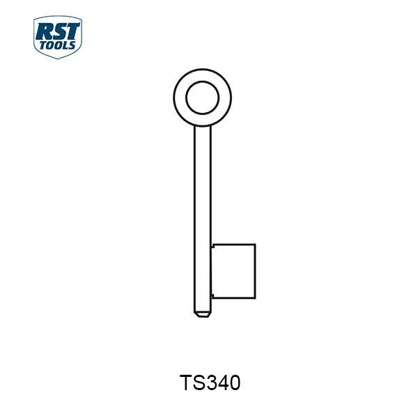 RST CHUBB Key Blanks TS340