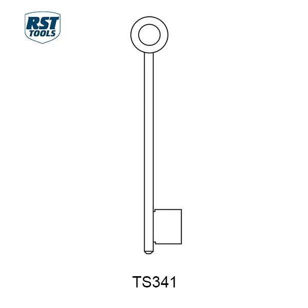RST CHUBB Key Blanks TS341