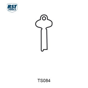 RST Flat Steel Key Blanks TS082