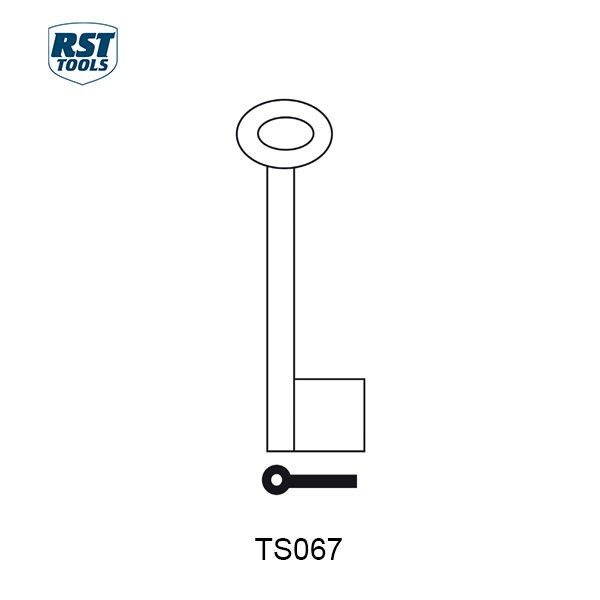 RST Pipe Key Blanks TS067