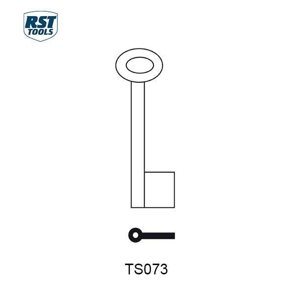 RST Pipe Key Blanks TS073