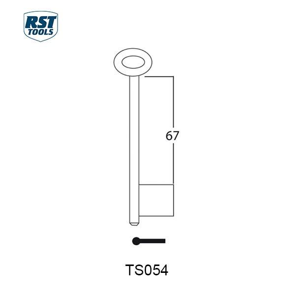 RST Safe Key Blanks TS054