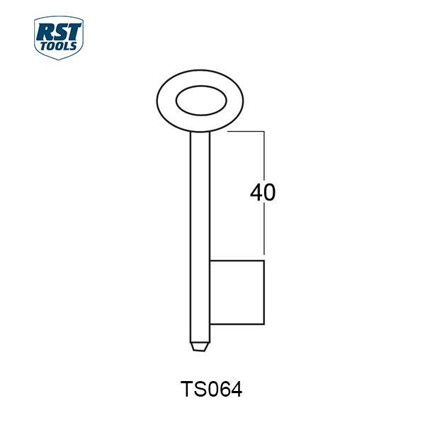 RST Safe Key Blanks TS064