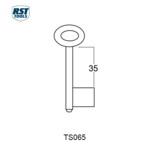 RST Safe Key Blanks TS339