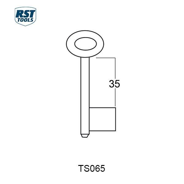 RST Safe Key Blanks TS065