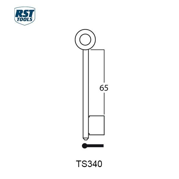 RST Safe Key Blanks TS340