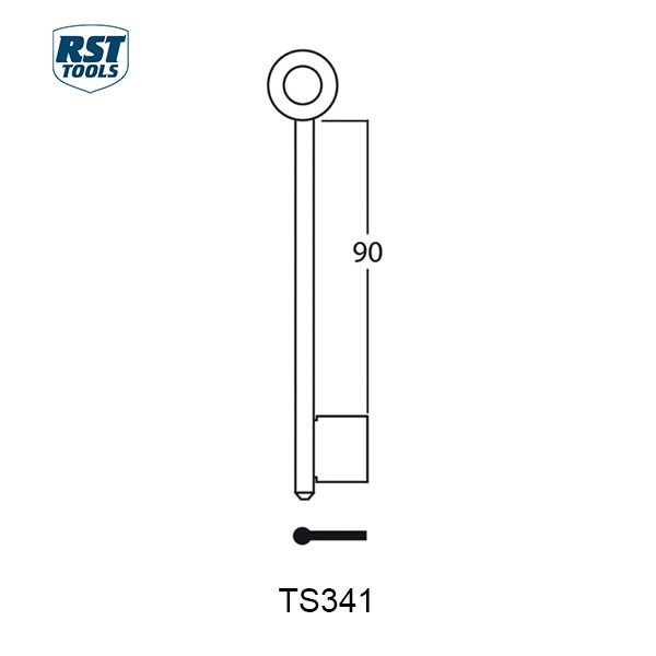 RST Safe Key Blanks TS341