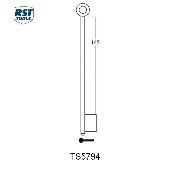 RST Safe Key Blanks TS5794