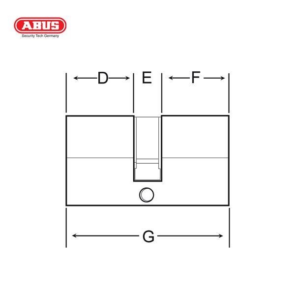 ABUS E45 Standard Cylinder E45-60BP-1_C