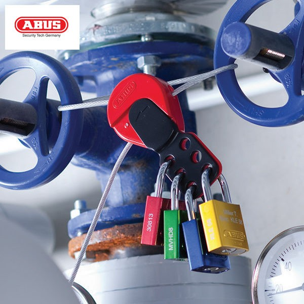 ABUS Universal Cable Gas Cylinder Lockout C503_B
