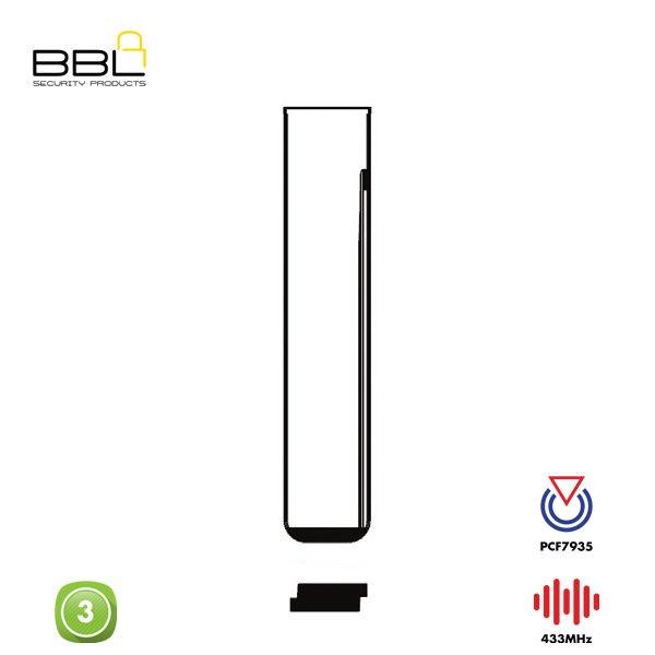 BBL Remote BMW Shape 3 Button REMC-BMW-16B_B