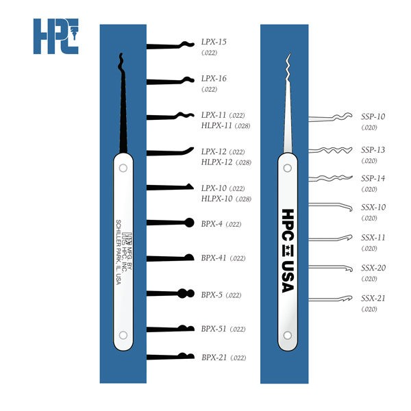 HPC Graphite Pick LPX-15