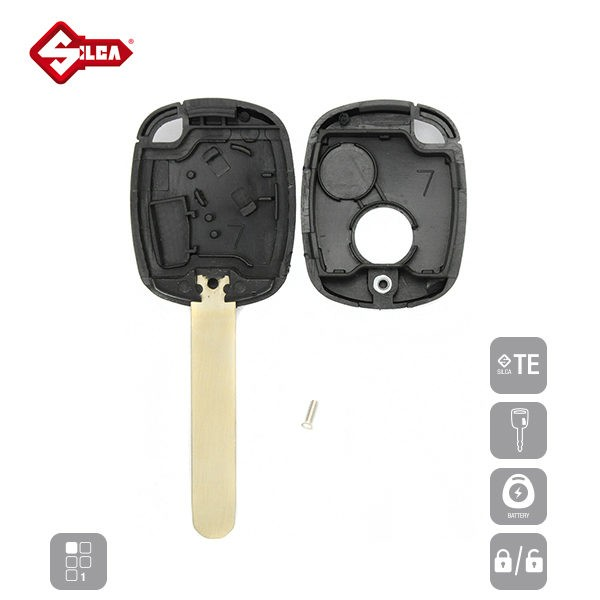 SILCA Empty Key Shells 1 Button HON66RS1_D