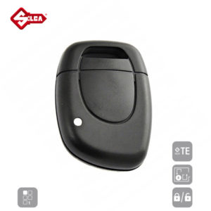SILCA Empty Key Shells 1 Button NERSD1N