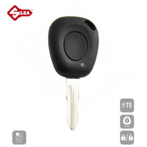 SILCA Empty Key Shells 1 Button VAC102ARS1