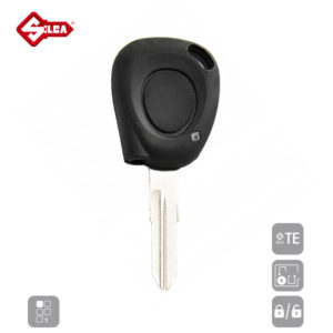 SILCA Empty Key Shells 1 Button VAC102B1N