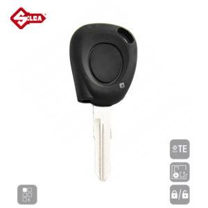 SILCA Empty Key Shells 1 Button VAC102B1N