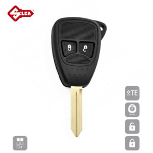SILCA Empty Key Shells 2 Button CY24RS2