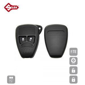 SILCA Empty Key Shells 2 Button CY24RS2