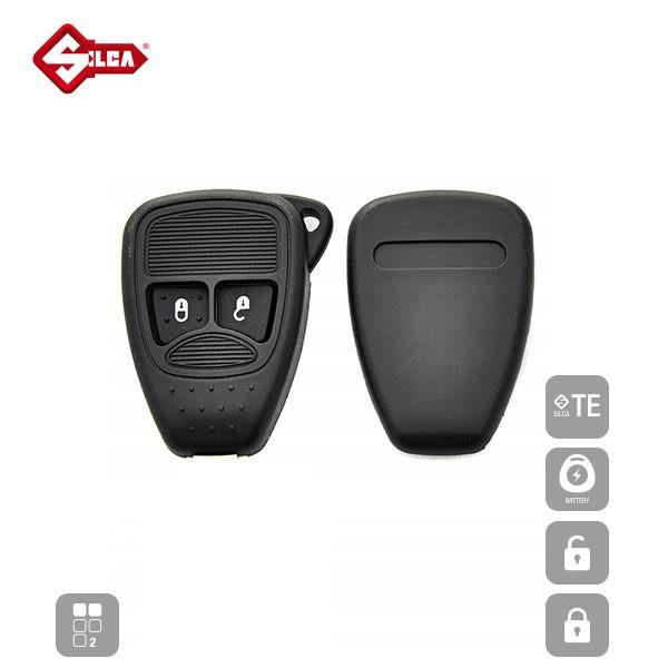 SILCA Empty Key Shells 2 Button CY24RS2_B