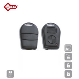 SILCA Empty Key Shells 2 Button HU58RS2N