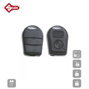 SILCA Empty Key Shells 2 Button HU58RS2N