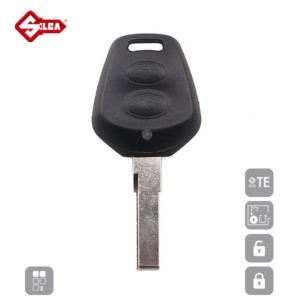 SILCA Empty Key Shells 2 Button HU66RS2