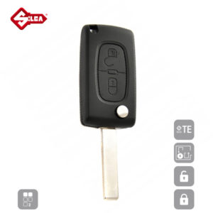 SILCA Empty Key Shells 2 Button HU83ARS2