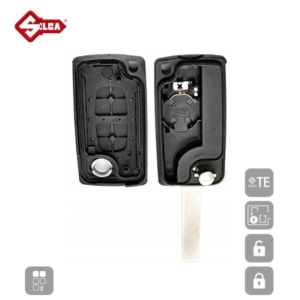 SILCA Empty Key Shells 2 Button HU83ARS2_C