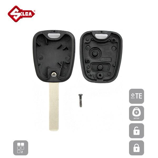 SILCA Empty Key Shells 2 Button HU83RS2_C