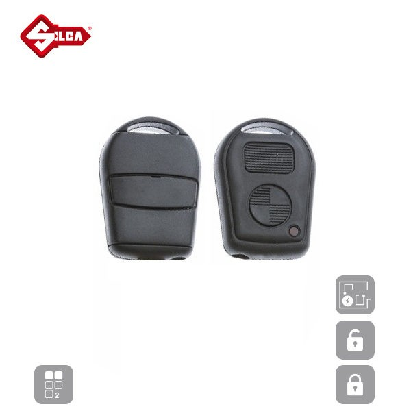 SILCA Empty Key Shells 2 Button HU92RRS2N_B
