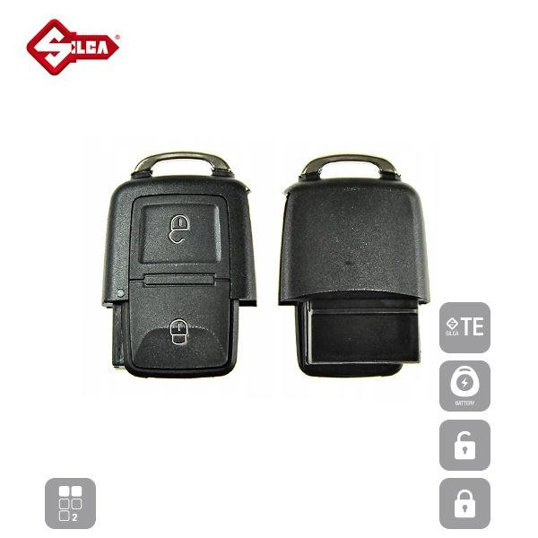SILCA Empty Key Shells 2 Button HURSA2_C