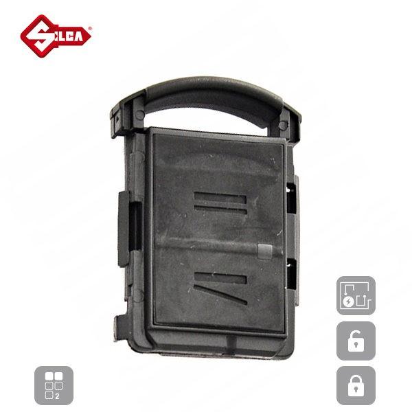 SILCA Empty Key Shells 2 Button HURSH2N_A