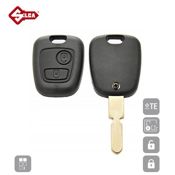 SILCA Empty Key Shells 2 Button NE78RS2N_B