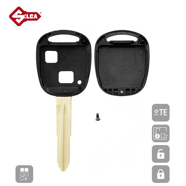 SILCA Empty Key Shells 2 Button TOY41RRS2_C