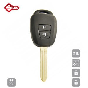 SILCA Empty Key Shells 2 Button TOY43CRS2N