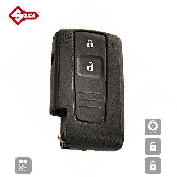 SILCA Empty Key Shells 2 Button TOYRSE2_A