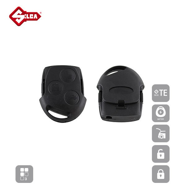 SILCA Empty Key Shells 3 Button FORS8_C