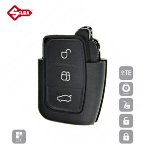 SILCA Empty Key Shells 3 Button FORSA8